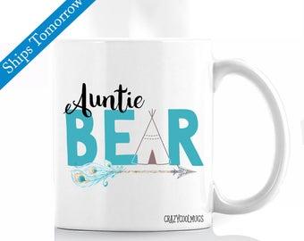 Auntie Bear - Aunt Coffee Mug