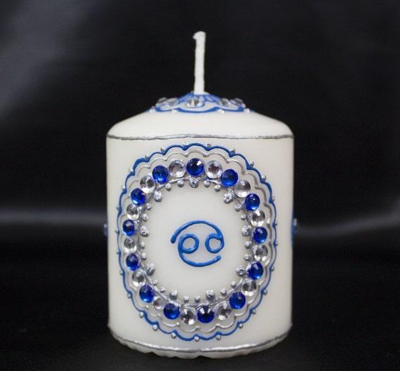 Cancer Henna Candle