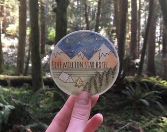 Sticker - Five Million Star Hotel