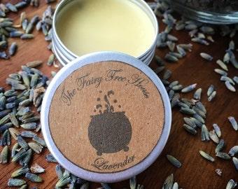 Lavender solid perfume