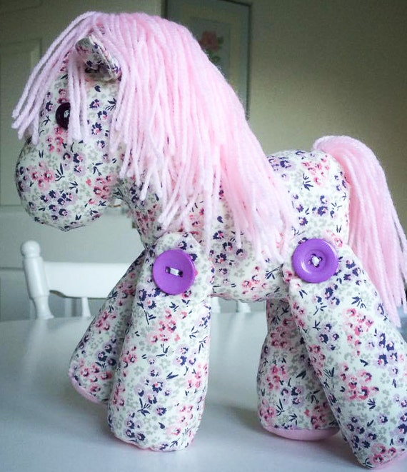 Hetty the haughty horse made out of your babygro or clothing