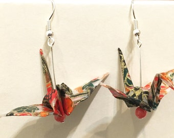 Origami earrings #3