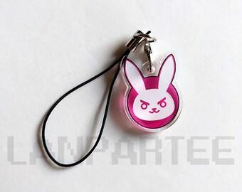 Overwatch: D.Va Bunny Phone Charm