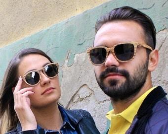 SALE | Wood Sunglasses | Wooden Sunglasses  | Wooden Eyewear | Women & Men Wooden Spectacles | Wood Spectacles