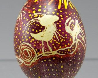Petroglyph Pysanka Egg