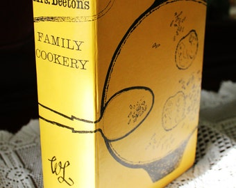 Mrs Beeton's vintage cookbook, 1962; fully illustrated hardback; cooking; baking; baking accessories; recipe book