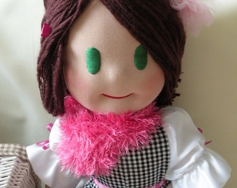 Muffi by Malina Dolls - New Unique Handmade Doll