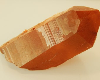 "Moroccan Red Quartz Crystal Terminated Point 2.75"" 62.7g (EMRQ1)"