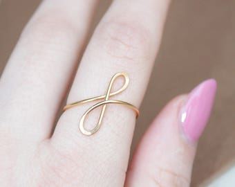 Letter F Lowercase Gold Initial Ring, 22Kt Gold Initial F Ring, Personalized Gold Name Ring, Wedding Bridesmaid Initial Ring Custom letter