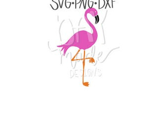 Flamingo SVG, Flamingo cut file