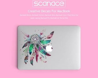 Macbook Decals Macbook Stickers Macbook Skins Macbook Cover Vinyl Decal for Apple Laptop Macbook Pro Macbook Air Indian Dreamwatch
