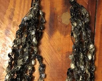 Crochet Yarn Necklace