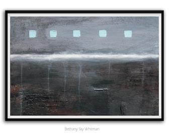 MINIMALIST LARGE PRINT 20x30 Digital Print Abstract Art Print Instant Download Gray Art Charcoal Modern Art Contemporary Painting Wall Decor