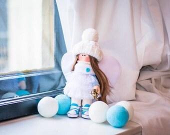 "Hande made doll ""Angel"""