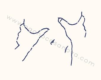 Print: Hands (1)