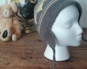 Tuque tricot enfant