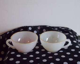 Sale special........A Pair of Arcopal cups.
