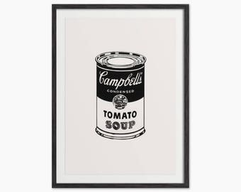 Andy Warhol Campbell's Soup Can Art - Andy Warhol Soup Can - Pop Art
