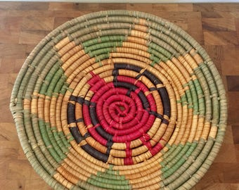 Coiled basket/Wall hanging