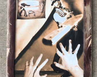 Catch! Custom framed 8x10 print