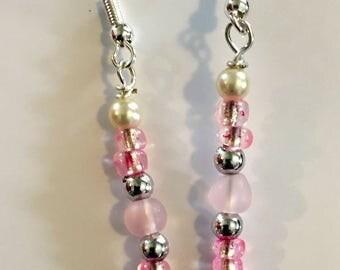 Blushing Glow earrings