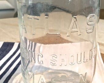 Clear Atlas Mason Jar Quart