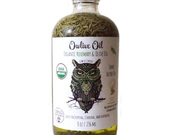 Owlive Oil Organic Rosemary & Olive Oil
