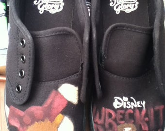 Wreck It Ralph-Inspired Canvas Shoes