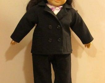 """18"""" Doll jacket, shirt and pant set"""