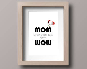 Digital Poster Mothers Day, Mothers day gift, Printable mothers day print, Digital Poster, Mothers day decor, Mother day quote, Digital art