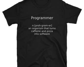 Programmer Definition Geek Science T-Shirt