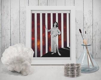 Geometric stripe print – Geometric prints – Scandinavian print – Scandinavian art – Wall art – Home decor
