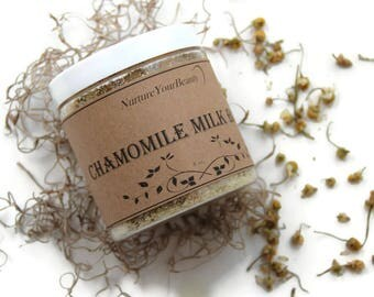 Goat Milk Bath with Chamomile, Floral Bath Salts, Organic Bath Salts, Natural Bath Salts, Bath Soak, Bath Salts, Gifts for Her
