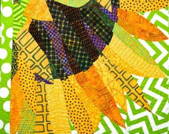 Summer's Smile (sunflower) Quilt Pattern