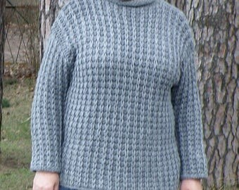 Comfortable sweater in the Oversize look