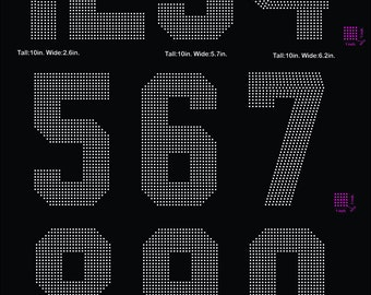 Huge digits, Sport, digital download, svg, eps, studio3, png, dxf rhinestone template