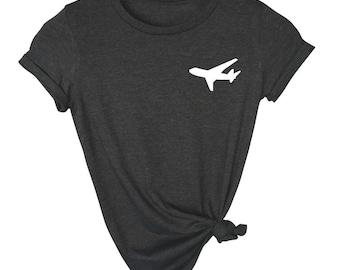 Traveler Shirt - Airplane Shirt - Gift For Traveler - Travel Lover - Flight Shirt - Flight Attendant Gift