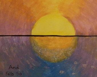 Sunrise Sunset Painting