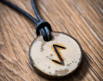 Viking 'Defense' Rune Necklace