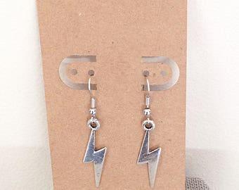 Lightning Bolt Harry Potter Earrings