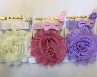 Set of Spring Hair Accessories