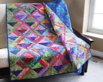 Batik Tropical Quilt