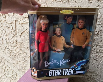 1996 Ken & Barbie Star Trek Collector Set