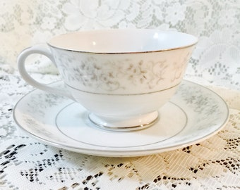Teacup and Saucer - Carrousel By Camelot China - Pattern 1315