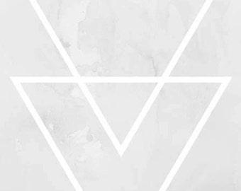 Triangle Art,Minimal Wall Art, Print Art, Digital Download, Geometrical Art, Home decor, Office Decor,Triangle Wall Print,Triangles Print