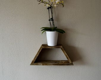 Geometric Reclaimed Wood Shelves - Variety of Shapes