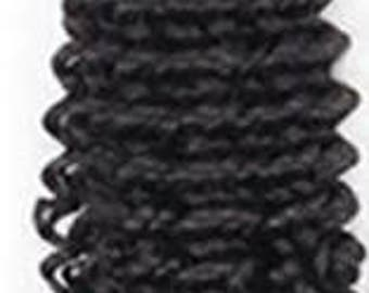 Tight-Wave Curl, Three Bundle Pack Virgin Hair for Weaving