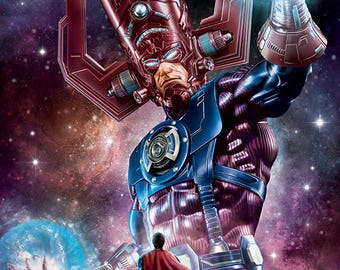 Galactus vs Superman 11x17