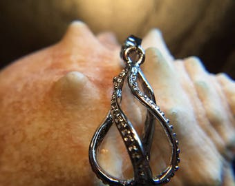 Twisted Cage Pendant