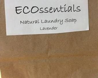 Natural Laundry Detergent - Lavender